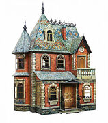 3d Puzzle Construction Kit Cardboard Doll House I Toy 110 Detailed Colored 283