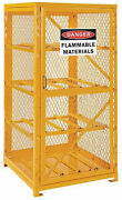 Cylinder Storage Cabinet For Lp Propane Tanks - Stores Eight 20 Or 33 Lb Tanks