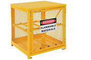 Cylinder Storage Cabinet For Lp Propane Tanks - Stores Four 20 Or 33 Lb Tanks