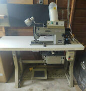 Juki Industrial Sewing Machine Model Dlu-5490-6 W/ Sc-120 Controller And Table