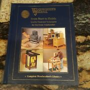 Woodworkers Journal From Start To Finish Quality Plans And Techniques 2005