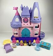 Fisher Price Little People Disney Princess Songs Palace Castle Figures Access.