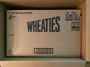 Limited Edition Wheaties Century Collection Gold Box 1 Muhammad Ali Case Of 7