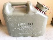 Scepter Olive Drab Military Fuel Can Mfc 2.5 Gallon / 10 L Used Surplus Nice