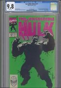 Incredible Hulk 377 Cgc 9.8 1991 Marvel Comic Tiger Electronics Insert Included