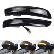 Sequential Led Side Mirror Turn Signal Light For Ford Kuga Escape Ecosport Focus
