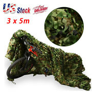 3x5 Meters Camouflage Netting Military Army Camo Hunting Shooting Hide Cover Net