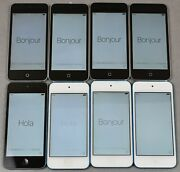 Lot Of 8 Apple Ipod Touch 16gb 5th Generation A1421 | A1509
