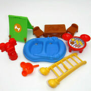 Mickey Mouse Clubhouse Camper Playset Pieces Boat Table Ladder Tent Grill Disney