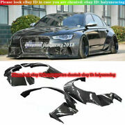For 2012-2015 Audi A6 S6 Rs6 Fender Flares Wide Body Kit Wheel Arch Cover Trim