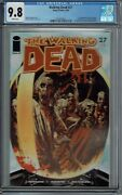 Cgc 9.8 Walking Dead 27 1st Print 1st Appearance Governor And Woodbury White Pgs
