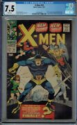 Cgc 7.5 X-men 39 White Pages New Costumes Blob Mastermind Banshee Appear