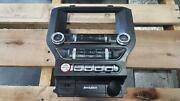 17 Mustang A/v Control Panel Includes Start Button And Climate Control 8 Screen
