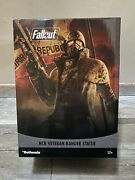 Bethesda Gear Fallout Ncr Veteran Ranger Statue - Brand New In Hand Le 500