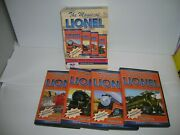 Tm Books And Video  The Magic Of Lionel  4 Dvd Collection , Lot 21035
