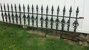 Antique Cast Iron Victorian Fence Ornate Fancy Gothic Beautiful