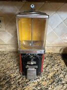 One Cent Gum Ball Machine Vintage With Key Works Victor Nice 1andcent