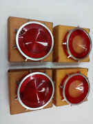1962 Chevrolet Corvair Stop And Tail Light And Back Up Lenses