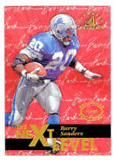 1997 Pinnacle Inscriptions Challenge Collection Barry Sanders 43 -nm/mt-