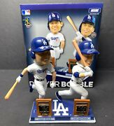 Signed Dodgers Roy Bobblehead Cody Bellinger And Corey Seager Psa 8a46647 Foco