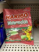Haribo Watermelon Gummy Candy Lot Of 4 Packs Soft Sweet