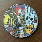 2017 1 Oz Silver Libertad Graffiti / From The Streets Design Is One Of A Kind
