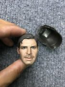 1/6 Hot Toys Dx05 Indiana Jones Raiders Of The Lost Ark Head Sculpt For Figure