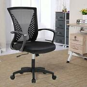 Officlever Mesh Backrest Wheels Ergonomic Lumbar Support And Fully Adjustable...