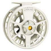 New Lamson Liquid 5+ Fly Reel Vapor Color - Free Shipping In Us