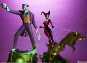 Batman The Animated Series Collection The Joker And Harley Quinn Statue Sideshow