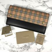 Harris Mini Check Continental Wallet New Leather
