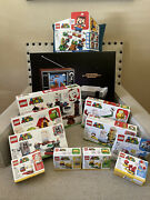 Lego Super Mario And Nes System Lot Of 11 Brand New Sealed