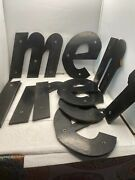 Large 8 Tall Composite Lot Of 10 Lower Case Letter Sign Letters Cool
