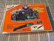 Lionel New York Central Flyer Set O-27 Scale Tested And Working X1110, Tracks +