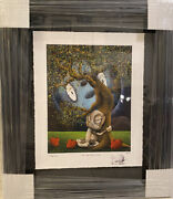 """Fabio Napoleoni """"we Need Each Other"""" Sold Out Signed Limited Edition And Framed"""