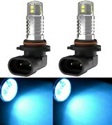 Led 20w H10 9145 Icy 8000k Two Bulbs Fog Light Replacement Upgrade Halogen Lamp
