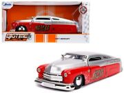1951 Mercury Silver And Red 626 Holley Bomber Bros Special Bigtime Muscle
