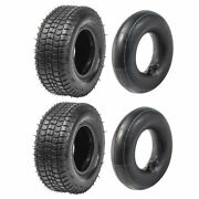 2 Pack 9x3.50-4 Tire Tube 9x3.5-4 Scooter Lawn Mower Garden Tractor Skateboard