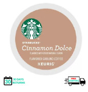 Starbucks Cinnamon Dolce Coffee Keurig K-cups You Pick The Size