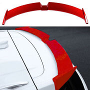 Red Abs Roof Boot Spoiler Wing Flap Decor 1pcs Fit For 2019-2021 Cadillac Xt4