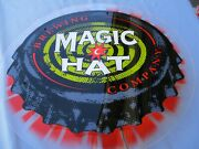 Magic Hat Brewing Beer Bar Light Sign Vermont Vt Works With In Line Switch