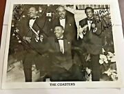 The Coasters Randb Rock And Roll Autographed Picture Music Hand Signed 8x10