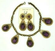 Rare Joseff Of Hollywood Necklace Earrings Free Shipping