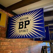 Vintage Sign - Vintage Bp Enamel Sign - Very Rare In This Condtion Condition 21