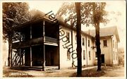 Real Photo Early View Woodmen Hall At Chatham Ny New York Fraternal Rppc Rp D219