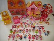 Mini Lalaloopsy Dolls Playsets Accessories Huge Toy Lot