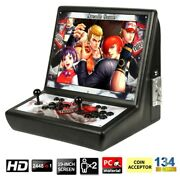 19and039and039 Pandoraand039s Box 2500 In 1 Video Games 2player Arcade Console W/coin Slot Gift