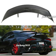 Carbon Fiber For Toyota Supra A90 A91 Mk5 2019 Up Trunk Gt Spoiler Rear Wing