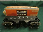 Lionel 3456 Norfolk And Western Operating Hopper Car With Original Box