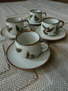 Otagiri Bittersweet Cup And Saucer Set X4 New Never Used Rare
